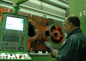 Final machining of a Crusher Gearcase