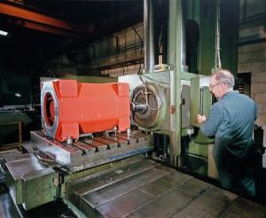 Scharmann FB100 5 Axis CNC Horizontal Borer